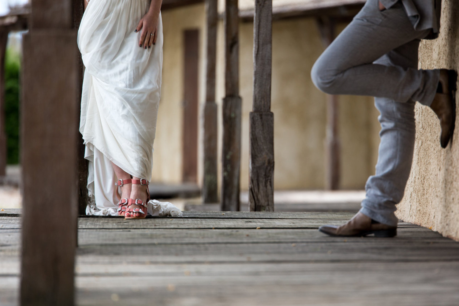 Chaussures western mariage