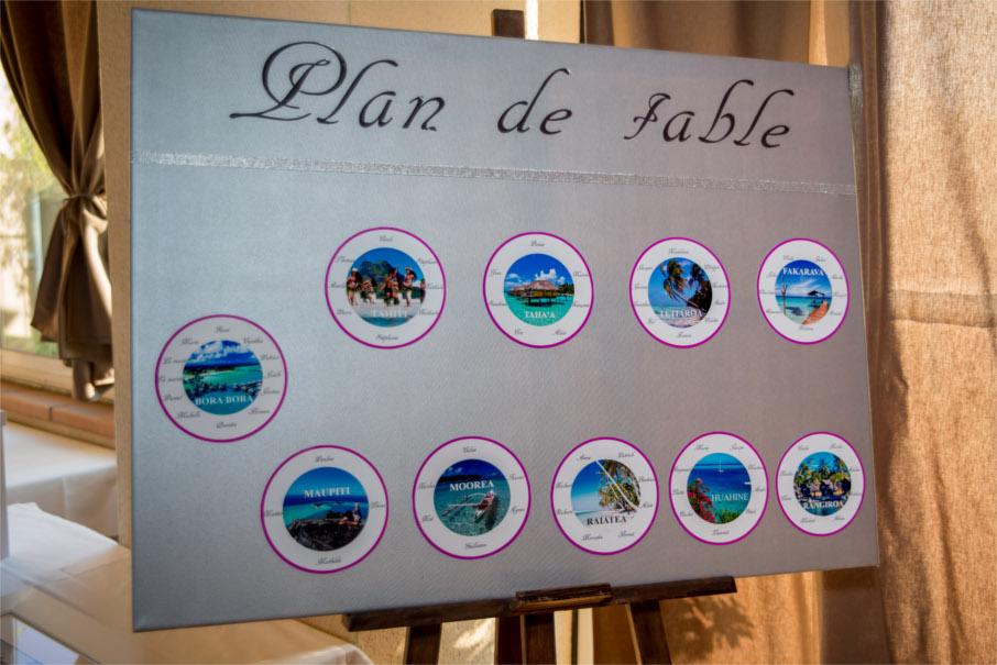 Plan de table mariage for Plan de table savoir vivre